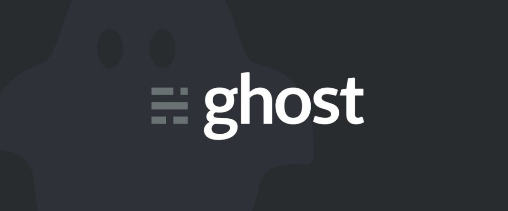 Ghost CMS - Best Blogging Sites for Students