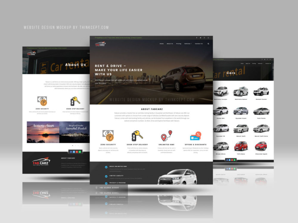 Website Design One Page Featured Image