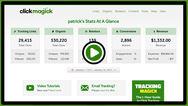 ClickMagick Review - Affiliate Programs that Pay Daily