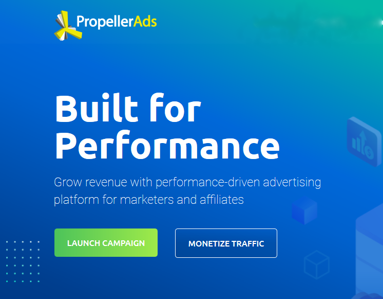 Propeller Ads - Best AdSense Alternatives