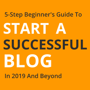 How To Start A Blog in 2019 Sidebar Widget