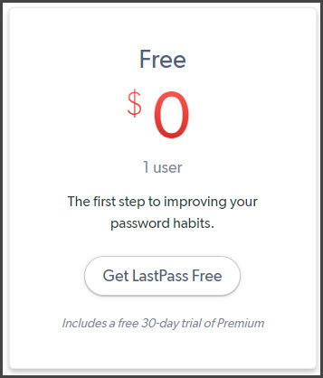 LastPass Coupon Free Trial
