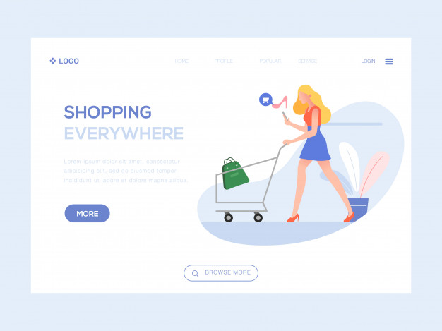 Landing Page Opt-in Design