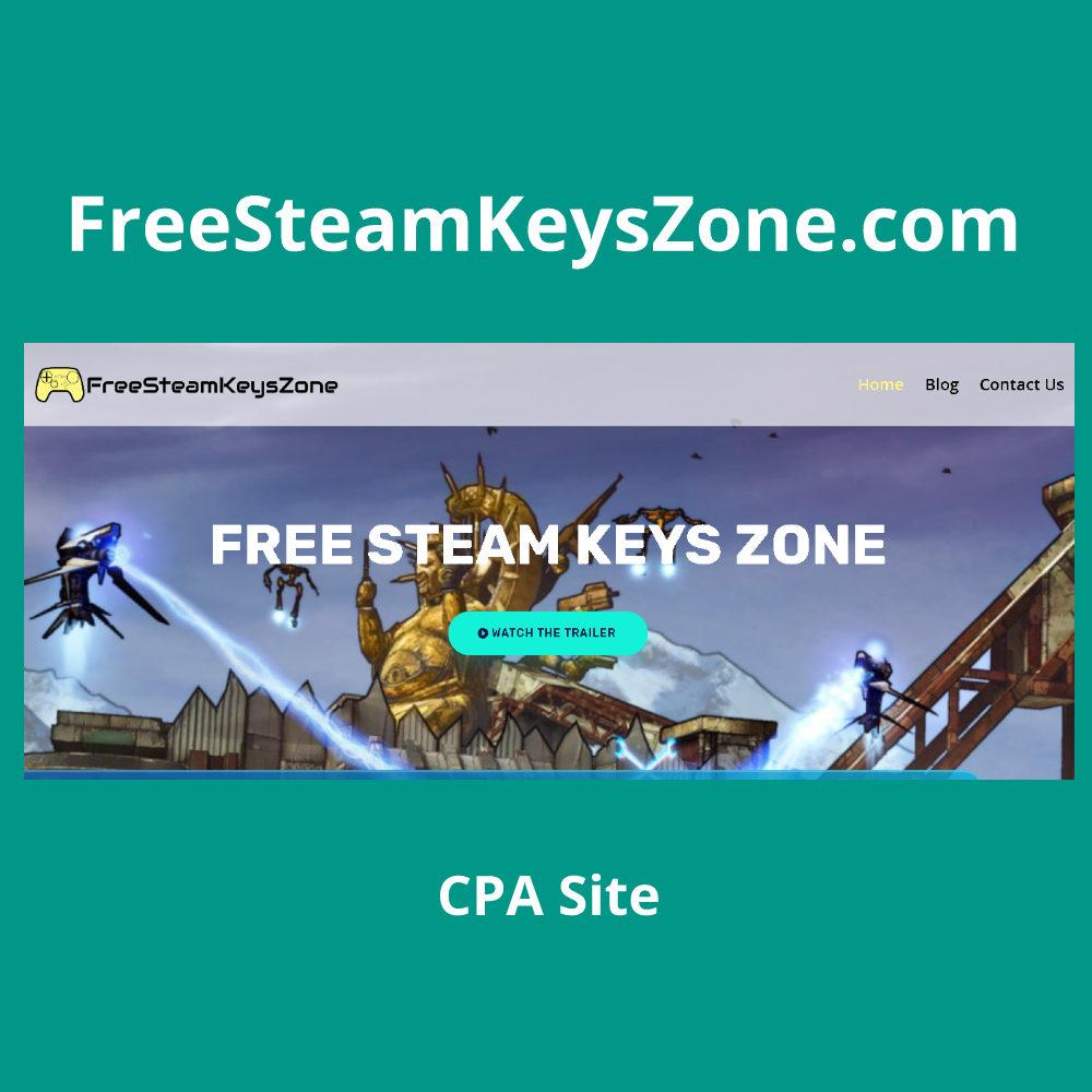 FreeSteamKeysZone.com