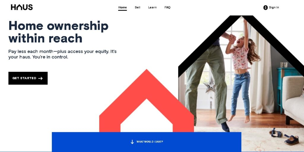 small business website examples Haus