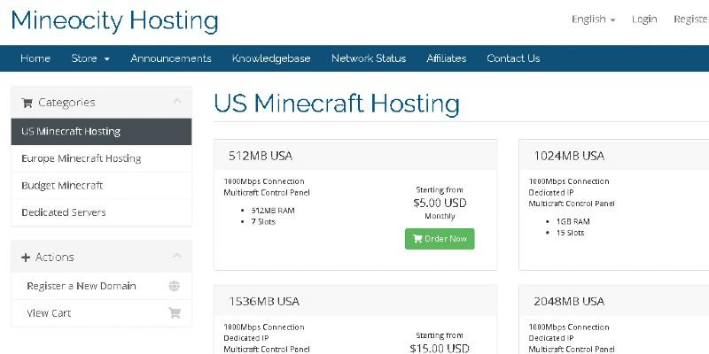 Mineocity Hosting Promo Code